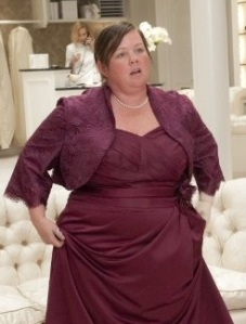"""Megan"" - Bridesmaids (courtesy of imdb)"